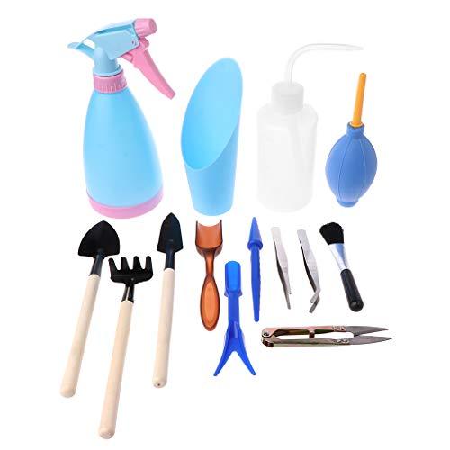 Kalttoy - Juego 14 herramientas jardinería trasplantar