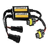 Merssavo 2 Pcs 50 Watt 9005/9006 Led Lastwiderstände Stecker Fix Scheinwerfer Blinker Lampe Tagfahrlicht Nebelscheinwerfer Auto Beleuchtung