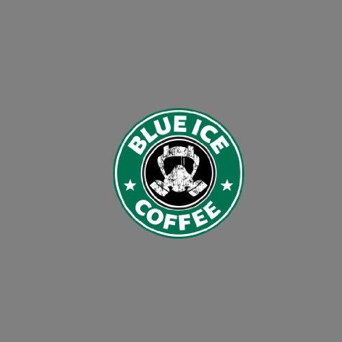 Blue Ice Coffee - Damen T-Shirt Blau