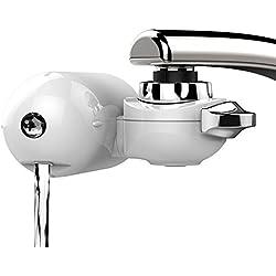 JTD - Filtro purificador de agua para grifo, 8 niveles, agua sin cloro, flúor, bacterias, virus, productos químicos, plaguicidas, cal, fácil de instalar