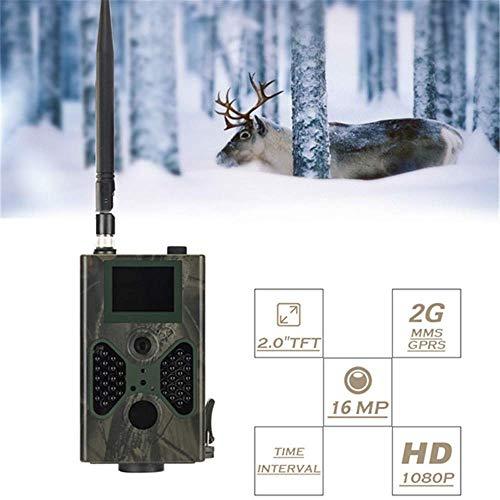 HL 16MP Jagdspur Kamera Fotofallen E-Mail MMS GSM 1080P Nachtsicht Upgrade Wildkameras Überwachung für Home Security Surveillance