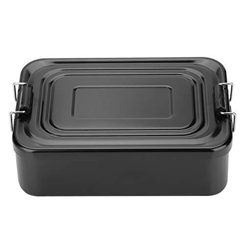 Nosii Tragbarer Aluminium Brotdose Lebensmittel Obst Vorratsbehälter für Camping Picknick im Freien