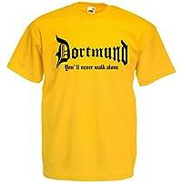 world-of-shirt Herren T-Shirt Dortmund You never walk alone