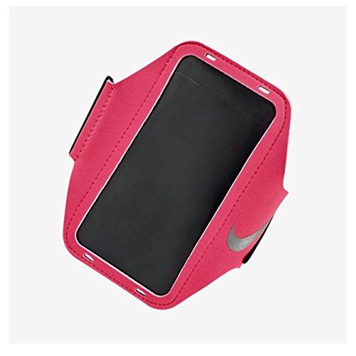 Armband, Hyper Pink/Black/Silver, OSFM (Pink Ribbon-elemente)