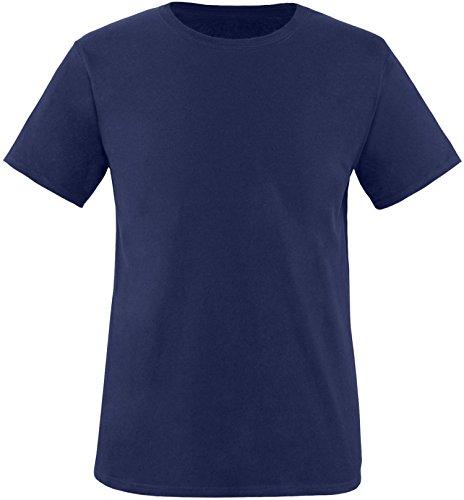 EZYshirt® Herren Rundhals T-Shirt Navy