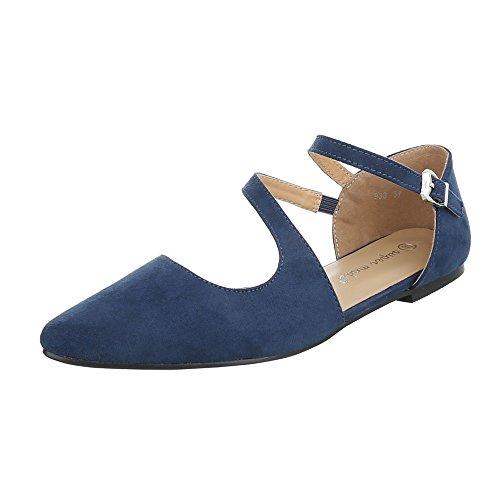 Ital-Design - Scarpe chiuse Donna Blau