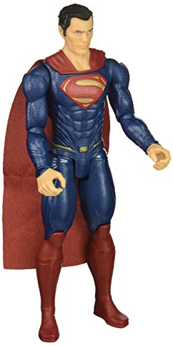 Mattel FGG80 DC Justice League Movie Basis Figur Superman, 30 (Anzug Wonder Woman)