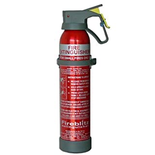 Car Fire Extinguisher - 600g BC Powder with 5 year Warranty