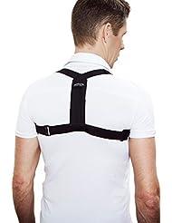Swedish Posture - Chaleco para corrección postural negro negro Talla:M/L