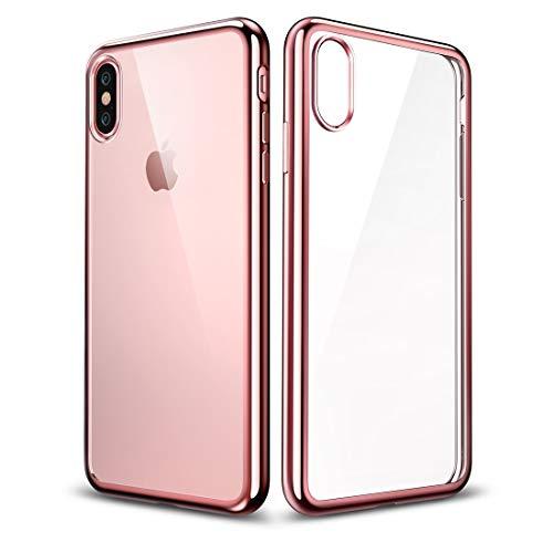 Schütze Dein iPhone, Essential Twinkler Series Ultra-dünnen Transparenten Weichen TPU Case für iPhone X Für iPhone Handy. (Großauswahl : Ipxg0233rg)