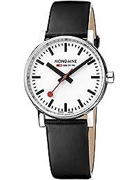Mondaine Unisex-Armbanduhr MSE.35110.LB