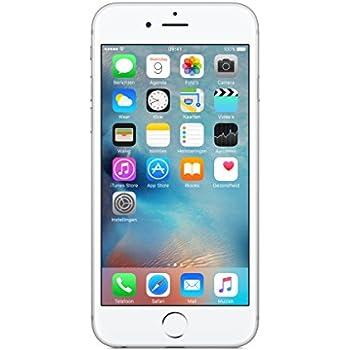 Apple iPhone 6s Smartphone débloqué 4G (Ecran : 4,7 pouces - 16 Go - iOS 9) Argent