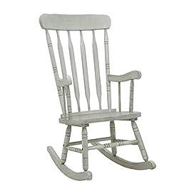 Gububi Relax Chair Leisure Rocking Chair Rotin Patio Rocking Chair avec Table Confortable Rocking Chair Durable Rocking…