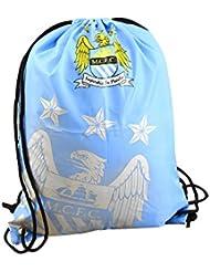 Manchester City FC Gym Bag - Crest