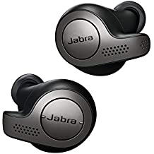 Jabra Elite 65t Écouteurs Bluetooth 5.0 True Wireless avec le service vocal Amazon Alexa intégré - Titane