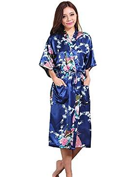 GL&G Il cardigan lungo di paragrafo della signora dell'abito di modo Sezione sottile L'abito giapponese del kimono...