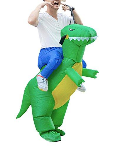 Imagen de thee disfraces inflable de dinosaurio traje hinchable para halloween alternativa