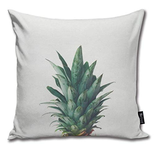 KAKICSA Pineapple top Funny Square Throw Pillow Cases Cushion Cover for Bedroom Living Room Decorative,Size:18 x 18 Inches(45cm x 45cm) Bamboo-bikini-top