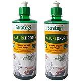 Herbal Strategi Natural Dishwash Liquid Gel –Pack of 2 (500 ml each, Lemon Oil)  Skin Safe, Baby Safe & Pet-Friendly   100% H