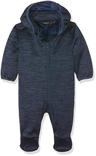 NAME IT Baby-Jungen Schneeanzug Nitsigma Softshell Wholesuit B Mznb FO, Blau (Dress Blues), 68 (Herstellergröße: 62-68)