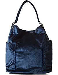 Handbag Republic Women Handbag Pu Leather Top Handle Bag Korean Fashion Tote Style With Side Zipper Pouch (Velvet...