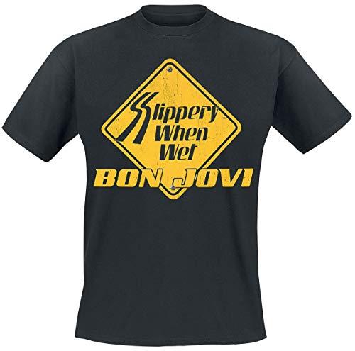 en Wet T-Shirt schwarz M ()