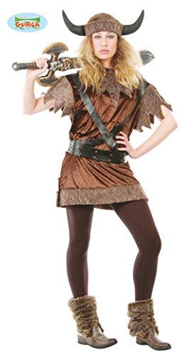 Imagen de disfraz barato de vikinga mujer para carnaval