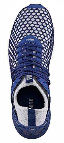 Puma Ignite Dual Netfit, Scarpe Sportive Outdoor Uomo Blu (Blue Depths-quarry)