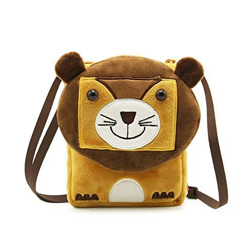 Lindong Süß Tier Kinder Tasche Umhängetasche Kindergarten Minibag für Babys Jungen Mädchen Kleinkinder Löwe Baby-jungen-tasche