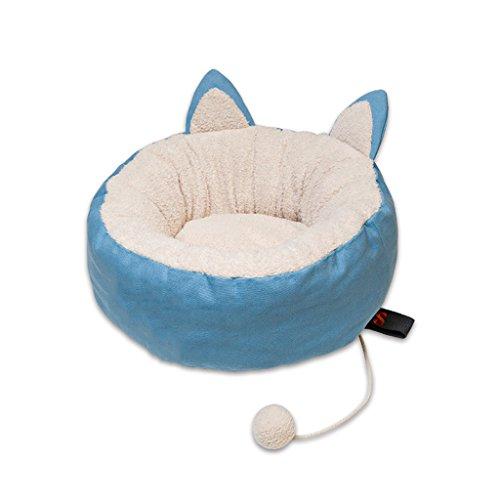 Multi Farbe Tröster (GAODUZI Neue Spaß-Haustier-Katzen-Sänfte-Haus-Katzen-Bett-Katzen-Versorgungsmaterialien ( Farbe : E , größe : B ))