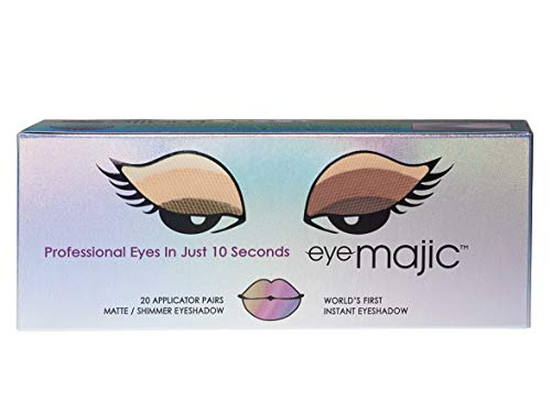 """Eye Majic Instant Eyeshadow – Easy Professional Makeup in 10 Seconds, 20 Pack, 4 Colour Multipack - """"Passion"""""""