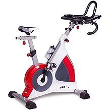 SportPlus Speedracer Ergometer, Wirbelstrombremse bis 500 Watt, Benutzergewicht bis 150 kg, Klasse S.A. (Studioqualität), SP-SRP-3000