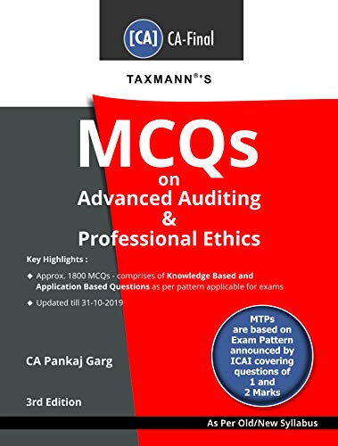 Taxmanns MCQs on Advanced Auditing & Professional Ethics (CA ...