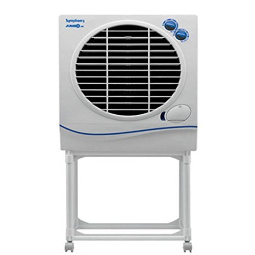 Symphony Jumbo Jr. 22-Litre Air Cooler with Trolley (White)-For Medium room