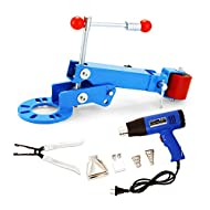Happybuy Fender Roller Kit Reforming Extension Fender Roller Tool Auto Body Wheel Arch Roller with 1500W Heat Gun and Fender