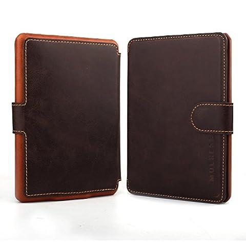 Coque Kindle Paperwhite,Mulbess Étui Housse en Cuir Avec Wallet Case