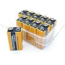 Duracell - Set de pilas alcalinas Block OEM 9V 10 Duracell 9v Industrial