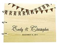 Capturez tous vos moments précieux et vos bons voeux avec notre livre d'or de souhaits de mariage.Un jour de mariage amusant et créatif doit avoir ce livre d'invité unique permettant à tous vos proches de laisser un message intime juste pour vous.C...