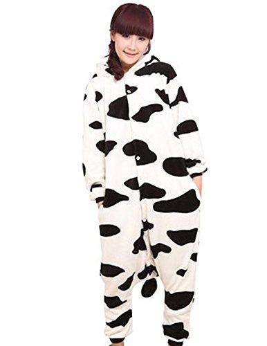 Pigiama intero panda kigurumi adulto donna uomo pigiama costume animali cosplay da koobea