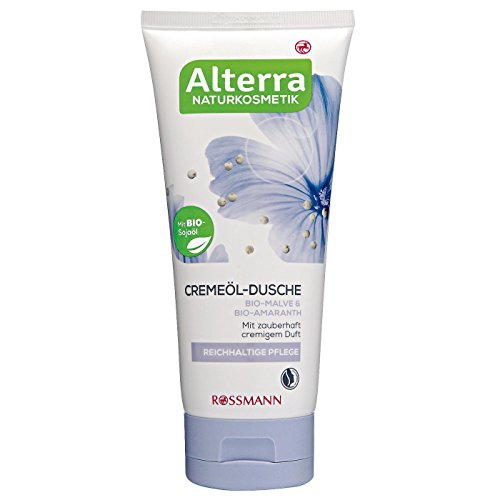 Alterra Creme-Öl Lotion Bio-Pistazie 200 ml für trockene Haut, mit Bio-Paranuss, mit cremig verwöhnendem Duft, zertifizierte Naturkosmetik, vegan