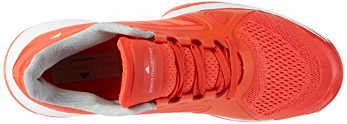 adidas Damen Barricade 2017 Tennisschuhe Orange (Blaze Orange/Ftw White/Solar Red)