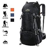 39366b047d VENUSTAS 50L Outdoor Trekking Zaino - Multifunzione Water Resistant 45+5L  Leggero Zaino da Escursione