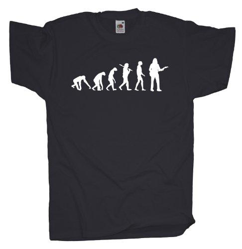 Ma2ca - Evolution - Gitarrist T-Shirt Charcoal
