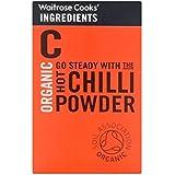 Ingredientes De Los Cocineros De Chile En Polvo Orgánica Waitrose Caliente 50G - Paquete de 6