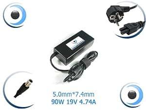 Adaptateur alimentation chargeur pour ordinateur portable HP Pavilion dv6-1120ef - Visiodirect