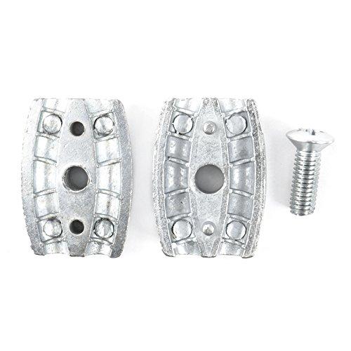 10 x SEILKLEMME EIFORM 2mm Aluminium Drahtseilklemme Stahlseil Seil Draht Stahl Drahtseil - 3