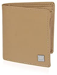 Aditi Wasan Genuine Leather Taupe Wallet