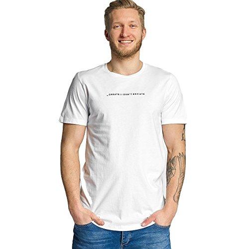 Jack & Jones Herren Oberteile / T-Shirt jcoFollow Weiß