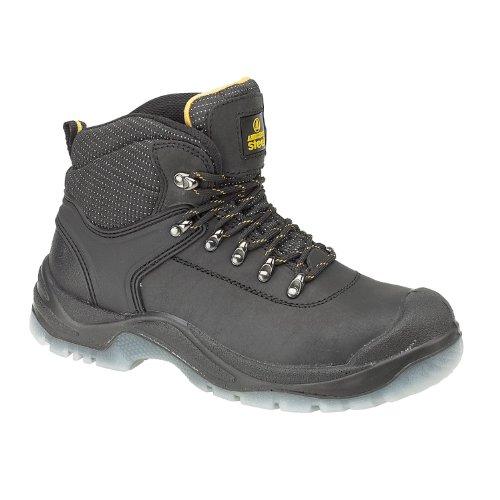 Amblers Steel FS199 - Chaussures montantes de sécurité S1-P - Homme Noir