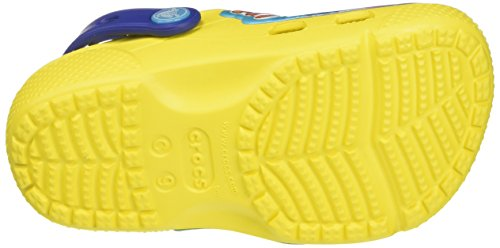 Crocs Funlabdoryclgk, Sabots Mixte Enfant Multicolore (Lemon)